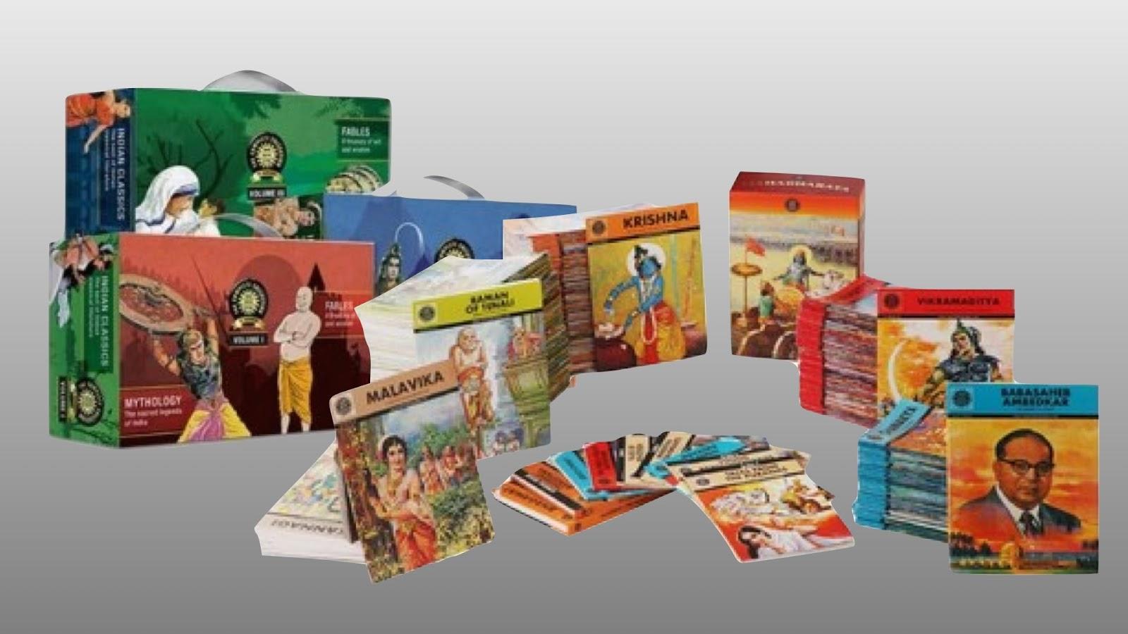Indian Epics Amar Chitra Katha Amar Chitra Katha Ultimate Collection