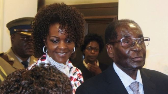 Wife of Robert Mugabe says, even a dead Robert Mugabe could stand in Zimbabwe election