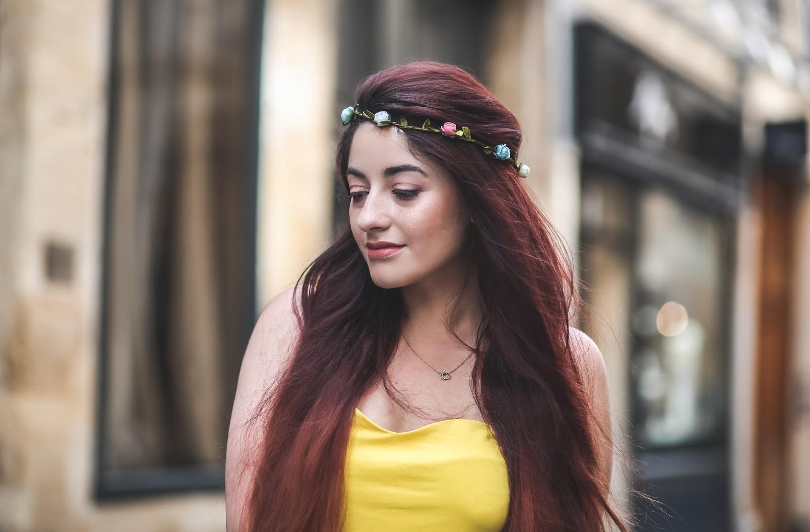 couronne de fleurs blog mode paris