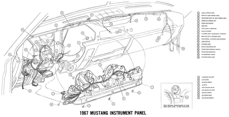 1967 malibu instrument panel wiring diagram
