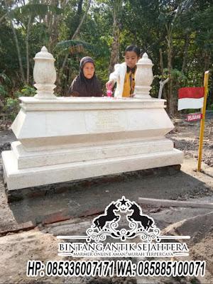 Makam Pejuang Indonesia, Model Kijing Marmer, Makam Batu Marmer
