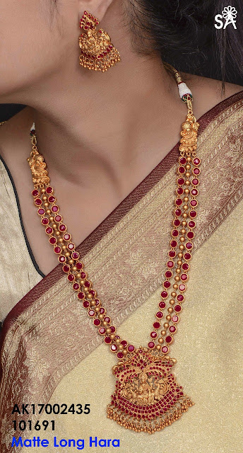 Exclusive Ruby Sets Buy Online 1 Gram Gold Jewelry