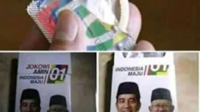 Heboh Bungkus Kondom Bergambar Jokowi-Ma'ruf