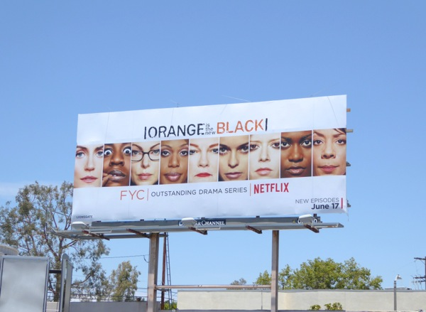 Orange is New Black 2016 Emmy FYC billboard