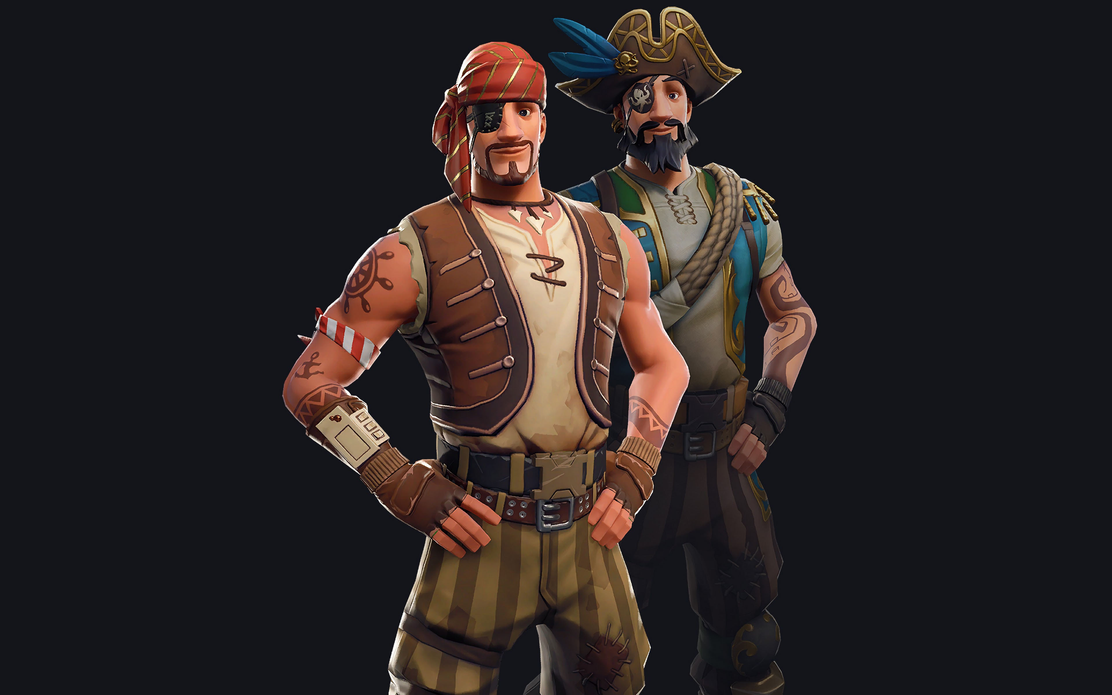 Fortnite Sea Wolf Outfit Skin 4k Wallpaper 153