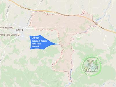 PETA : Kecamatan Cibogo, Kabupaten Subang, Jawa Barat