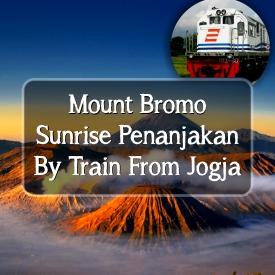 Bromo Tour By Train