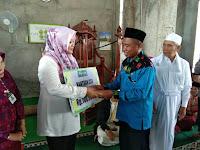 Jumatan di Masjid Al-Marhamah Desa Soro, Bupati Serahkan Bantuan Rp100 juta