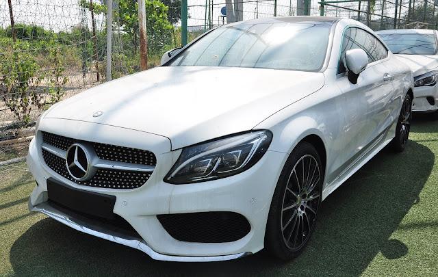 Ngoại thất Mercedes C300 Coupe thiết kế nổi bật đậm chất thể thao