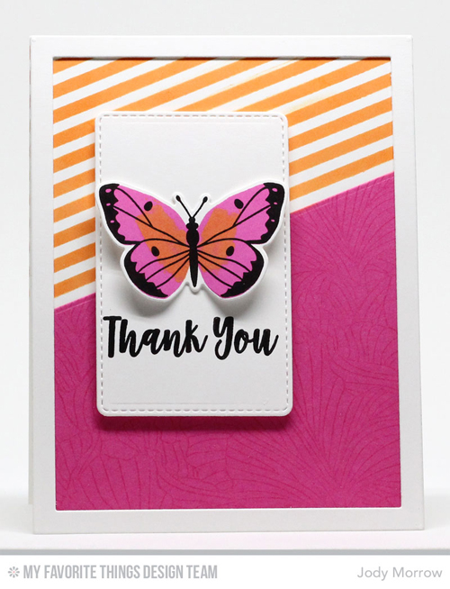 Handmade card from Jody Morrow featuring products from My Favorite Things #mftstamps