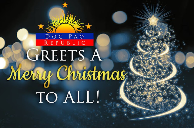 Doc Pao Republic Greets A Merry Christmas to All!