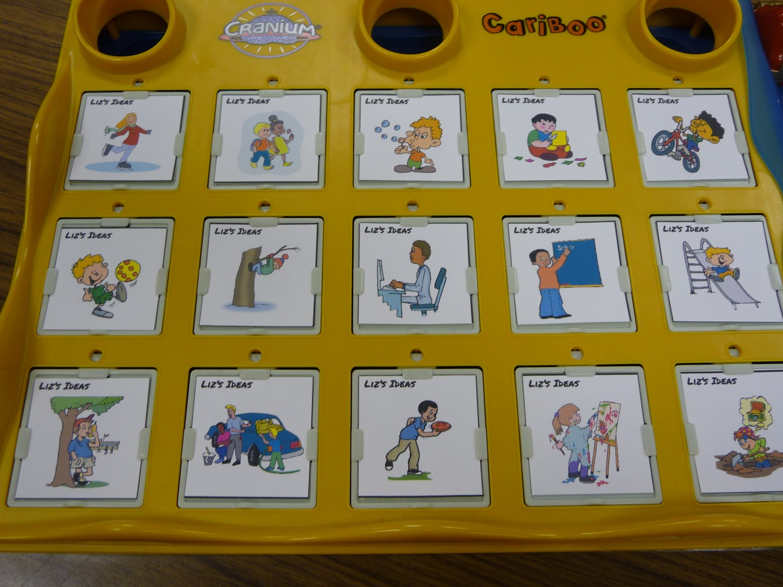 Liz S Speech Therapy Ideas Cariboo Cards
