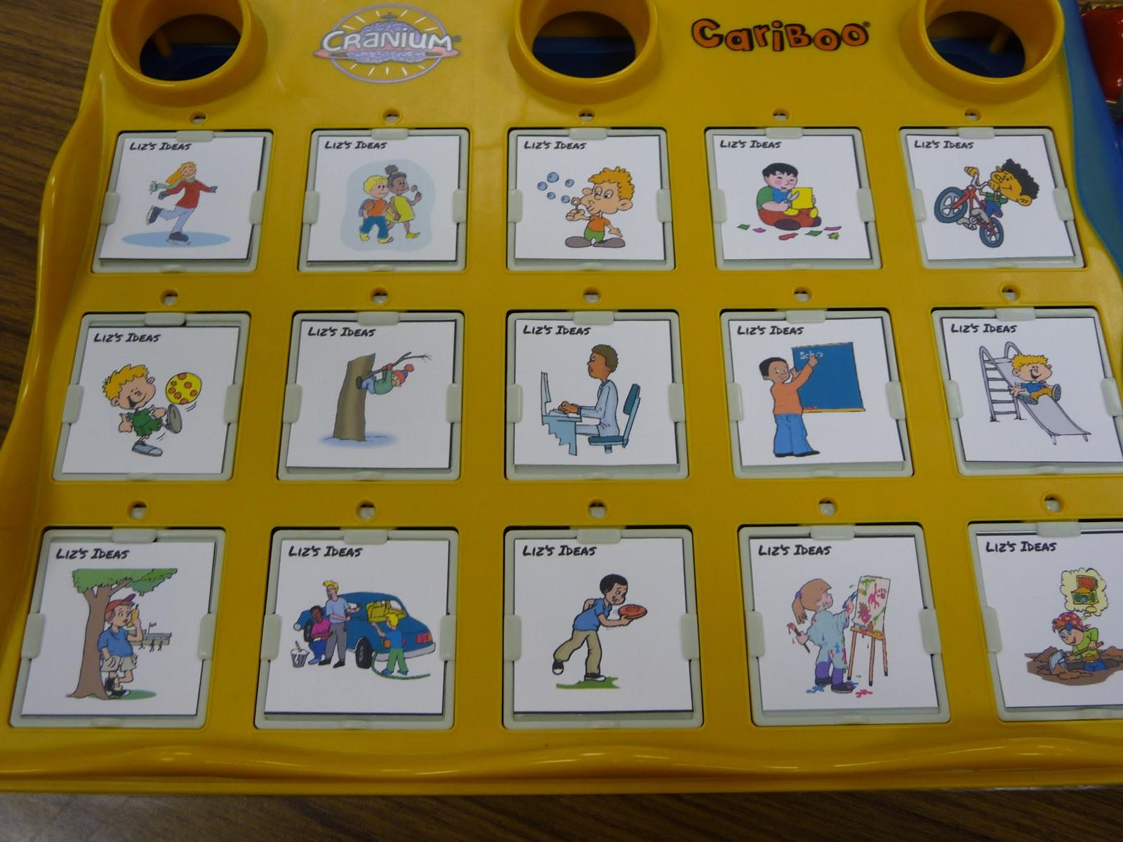 Liz S Speech Therapy Ideas Cariboo Cards