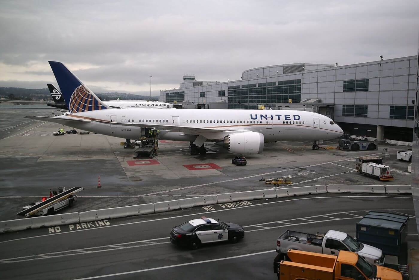 United Airlines investigates after a worker found in cargo hold following the flight from Charlotte to Washington, D.C.