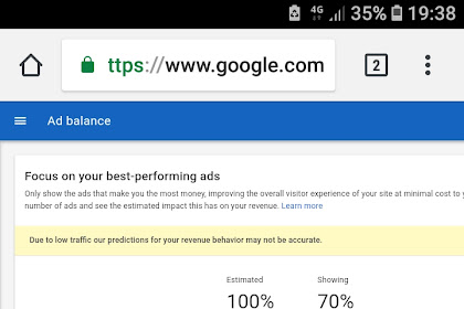 Increase your adsense earning with adsense ads balance