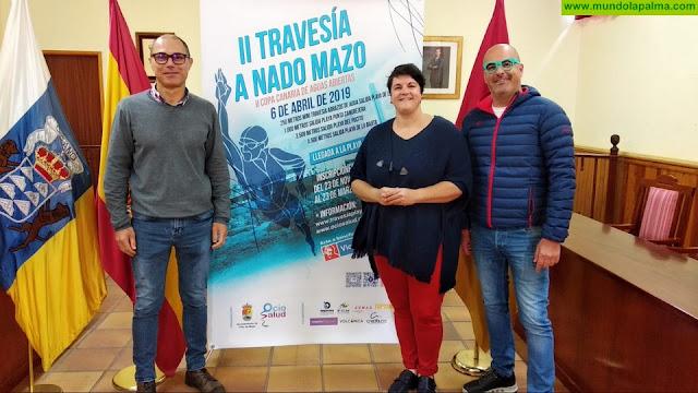 El Servicio de Deportes del Cabildo se suma a la organización de la II Travesía Playas de Mazo