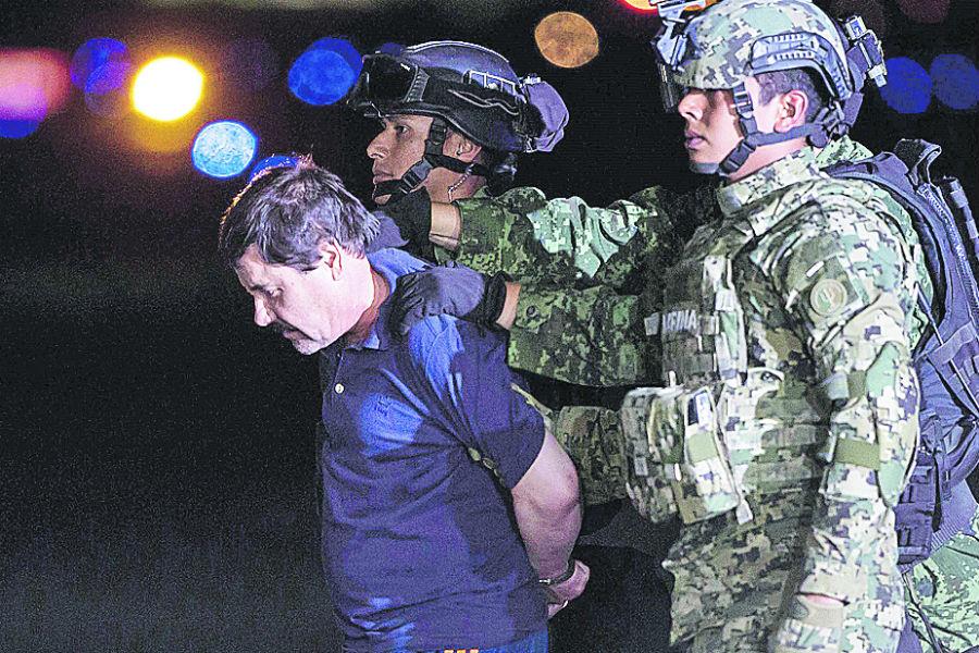 """Captura de """"El Chapo"""" modificó el mapa de los carteles en México."""