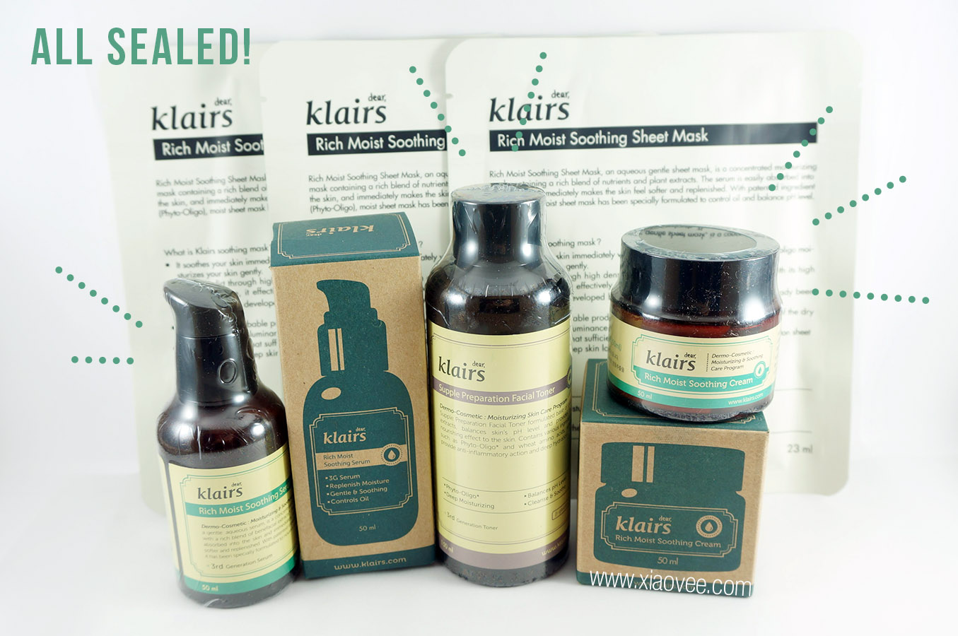 Wishtrend, Klairs Moisture Rescue Set Review, Korean Klairs Skincare Brand