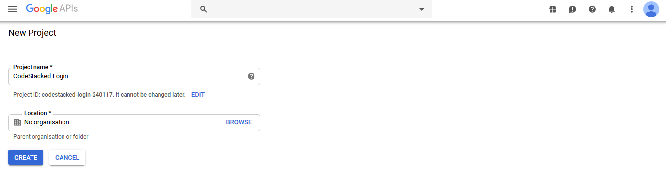 Login with Google OAuth in PHP-01
