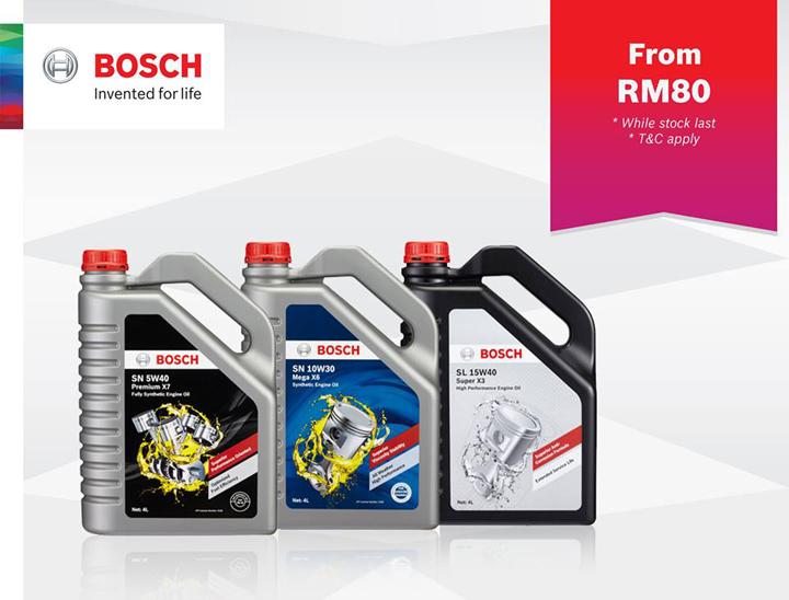 Minyak enjin Bosch