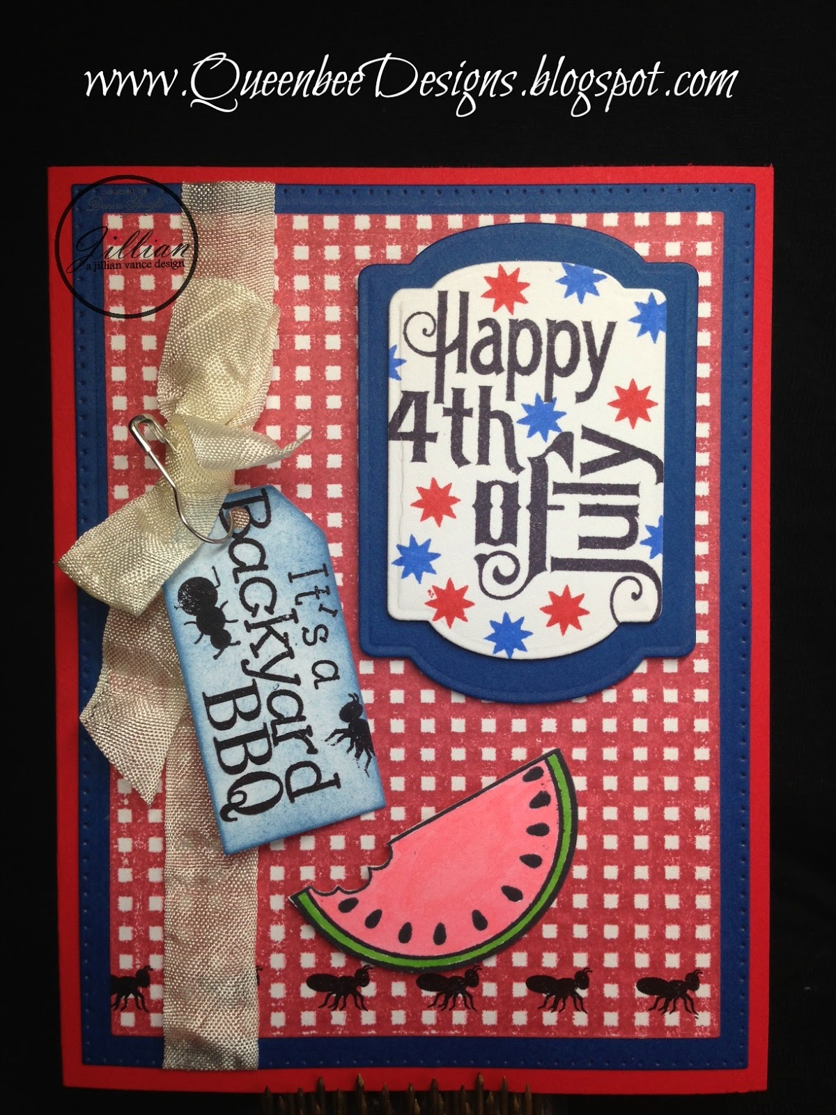 A Jillian Vance Design: Backyard Barbeque Invite