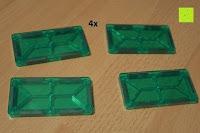 Rechteck: Playbees 100 Teile Magnetische Bausteine Set für 2D und 3D Form Konstruktionen, Regenbogenfarben Magnetspielzeug, Baukasten Magnetspiel, Magnetbausteine