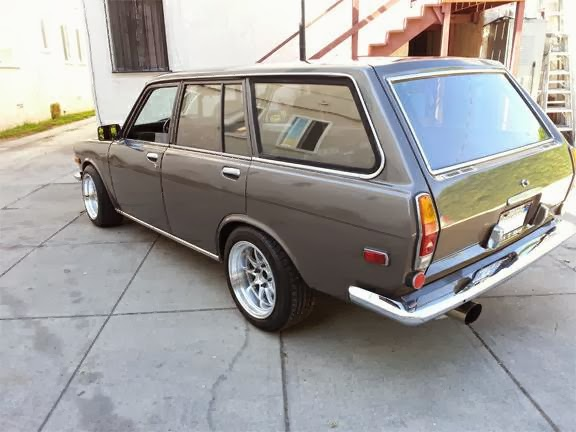 Daily Turismo: 15k: SR20DET 5-Door: 1970 Datsun 510 Wagon