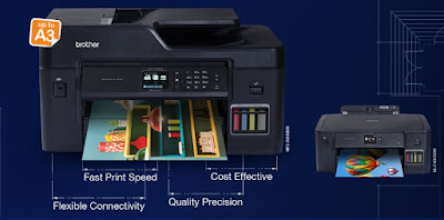 Printer Brother Refill Ink Tank A3 Inkjet