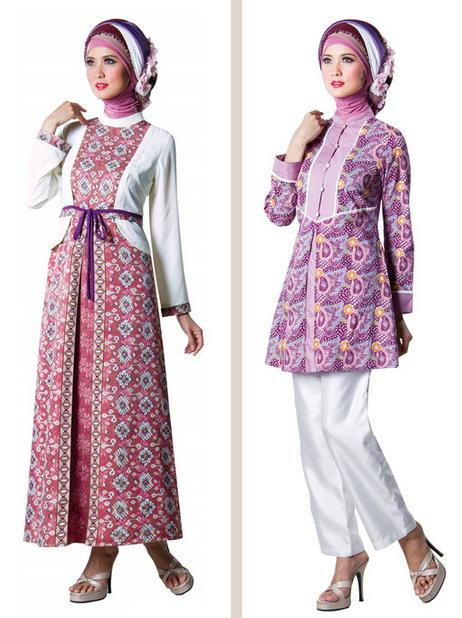 Contoh Gambar Baju Muslim Gamis Modern Terbaru 2015