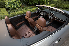 Interior view of 2018 Audi A5 Cabriolet