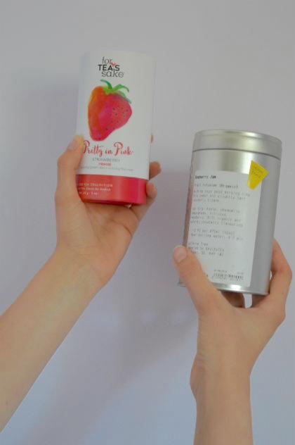 For Tea's Sake Pretty in Pink Oolong and Green Tea, David's Tea Raspberry Jam