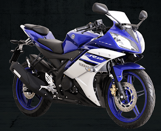 Yamaha R15 Racing Blue 2016