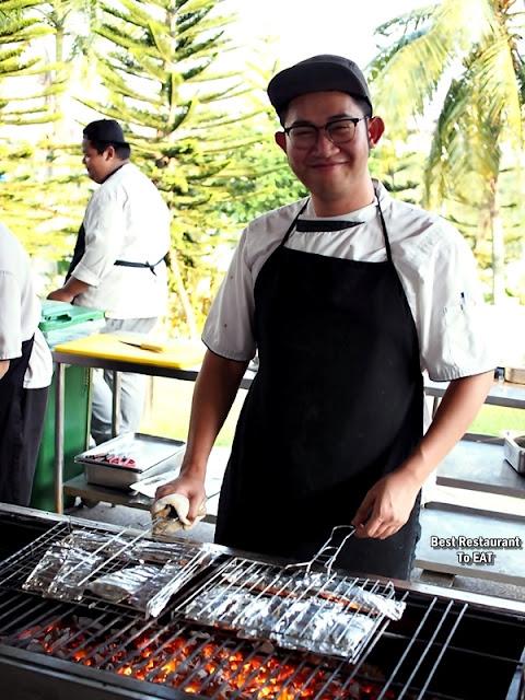 AROI DEE THAI RESTAURANT PUTRAJAYA BBQ Chef