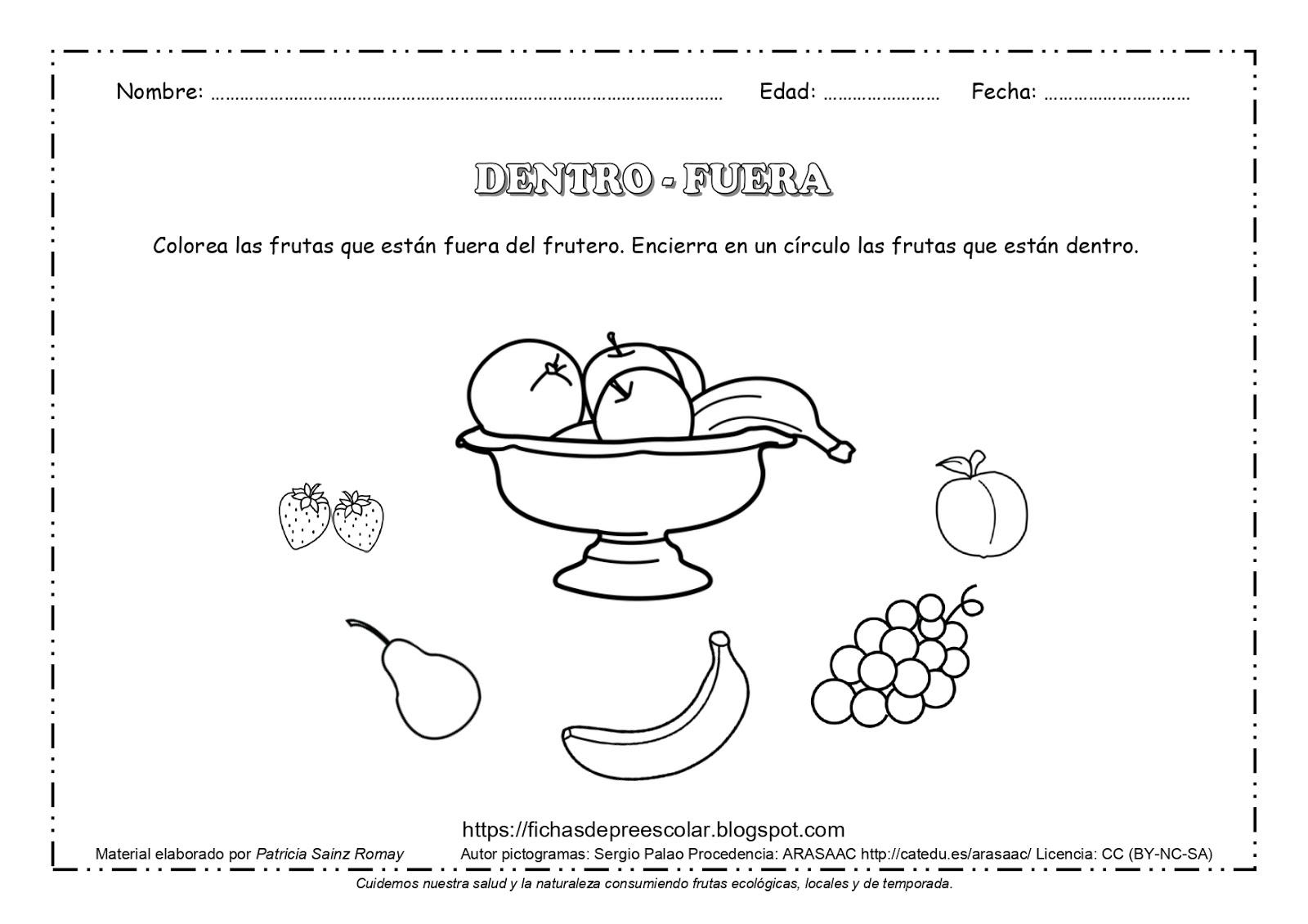 Dibujos Para Colorear De Preescolar: Actividades Para Colorear Para Niños De Preescolar