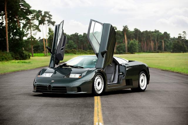 1993 Bugatti EB 110 GT for sale at Girardo & Co - #Bugatti #EB110 #GT #supercar #hypercar #forsale
