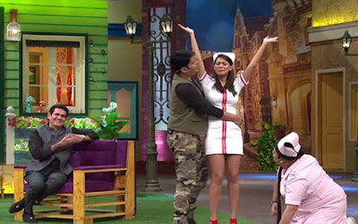 Comedy nights with kapil now know as The Kapil sharma show is full of scenes where kapil sharma is seen groping women, sexually painting women with stereotypes and making below the belt jokes.