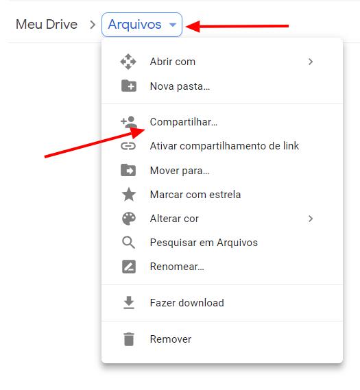 Como hospedar arquivos no Google Drive e permitir download direto?