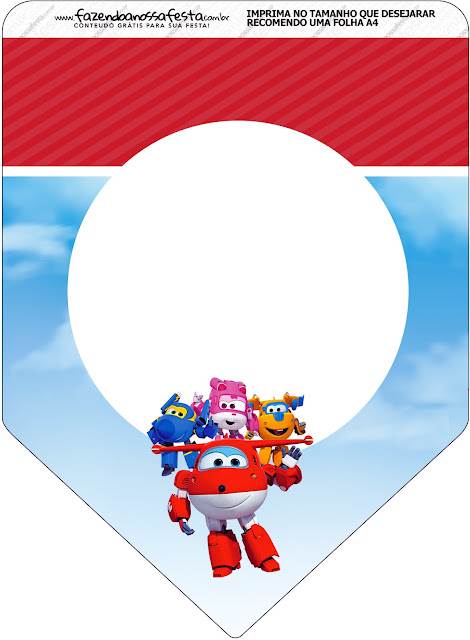 Super Wings Free Party Printables Oh My Fiesta In English