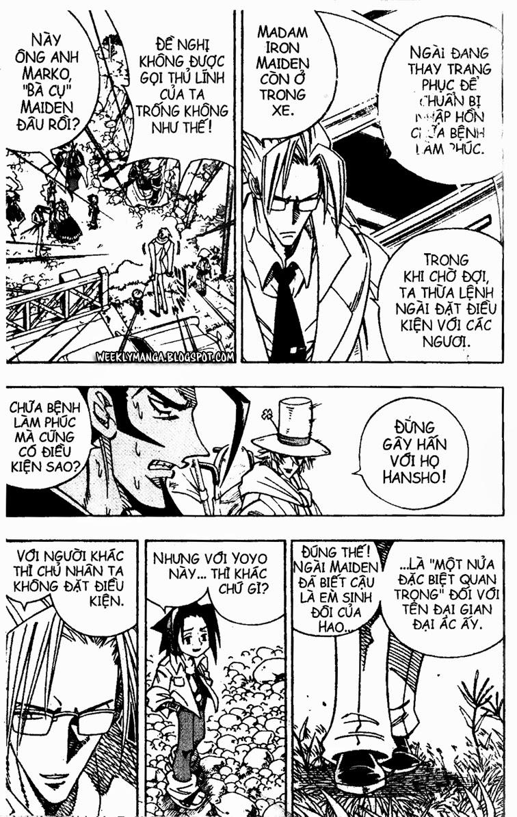 Shaman King [Vua pháp thuật] chap 156 trang 15
