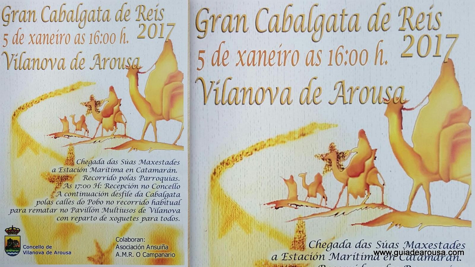 👪 CABALGATA DE REIS VILANOVA 5ene'17