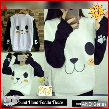 AND012 Sweater Wanita Roundhand Panda Murah BMGShop