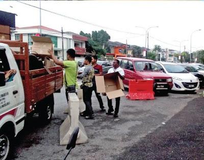 Damansara Uptown springcleaning