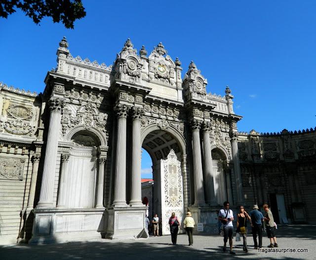 Portão Imperial do Palácio de Dolmabahçe, Istambul
