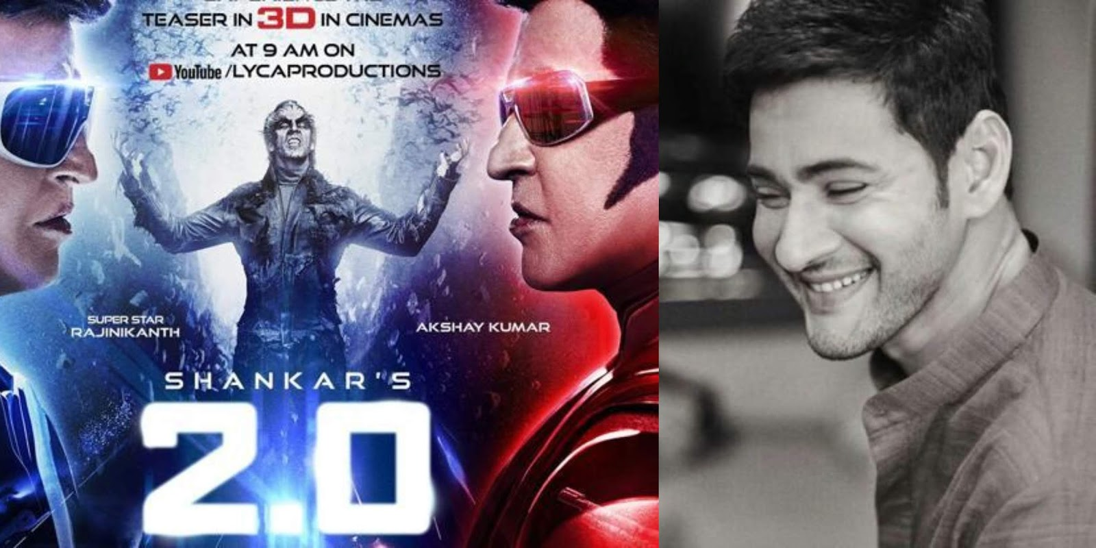 Mahesh Babu Praises Rajiniknath's #2PointO Movie With A Tweet!