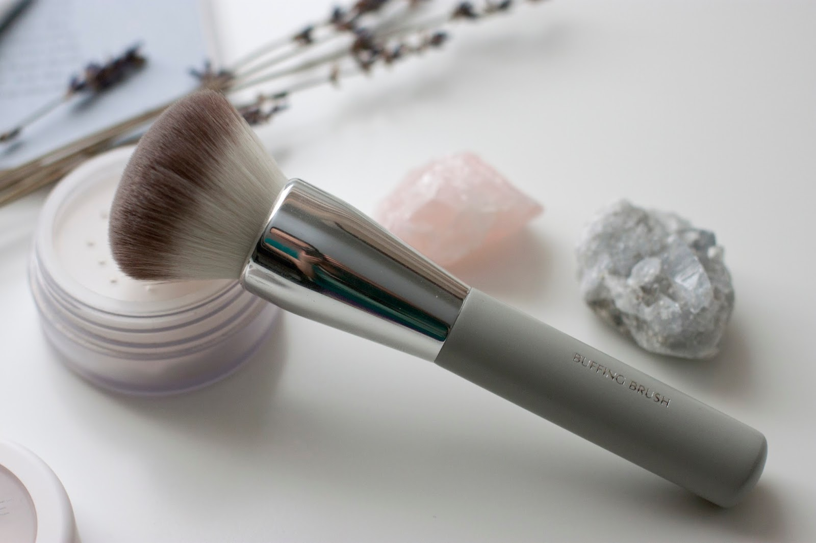 Honest Beauty Buffing Brush Review hellolindasau target jessica alba