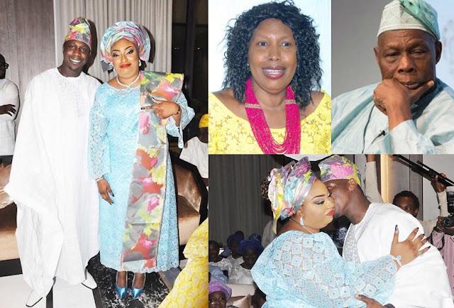 Obasanjo's wife loses bid to stop her son's wedding
