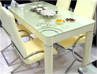 Glass Table for the Dining Area