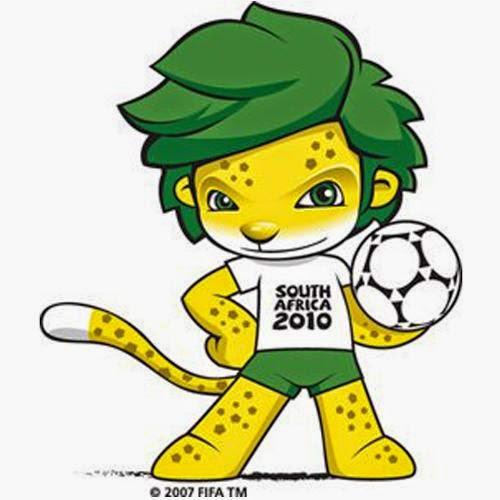 Zakumi Mascota del Mundial de Futbol año 2010 Sudáfrica