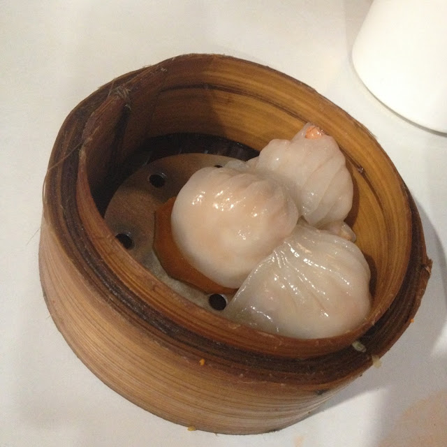 Steamed hakao at Harbour City Dimsum