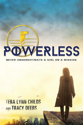 Trade Paper Release Tour: Powerless by Tera Lynn Childs and Tracy Deebs